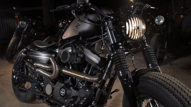 Harley-Davidson Custom Sportster - Battle of the Kings