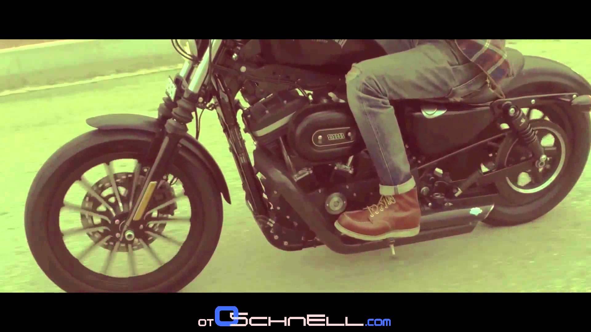 Harley Davidson Sportster Iron 883 [ Otoschnell 2016 - Episode 1]