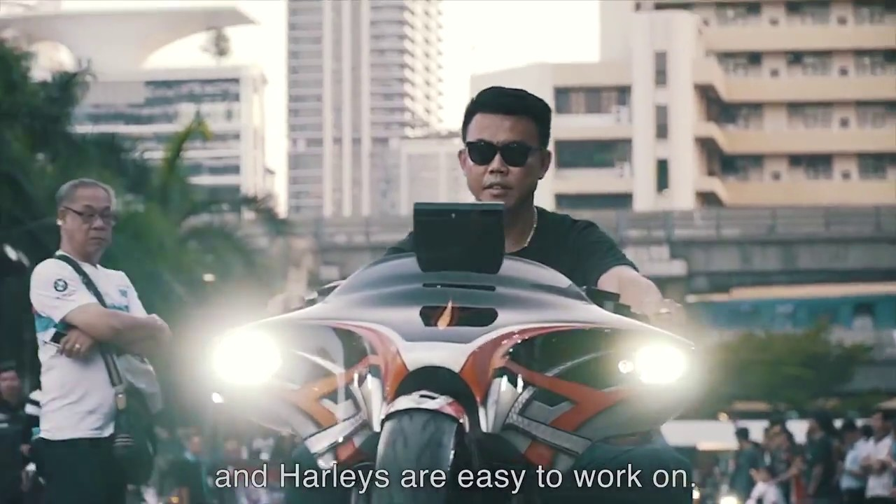 When I ride a bike, I want it to be      Harley Davidson Asia