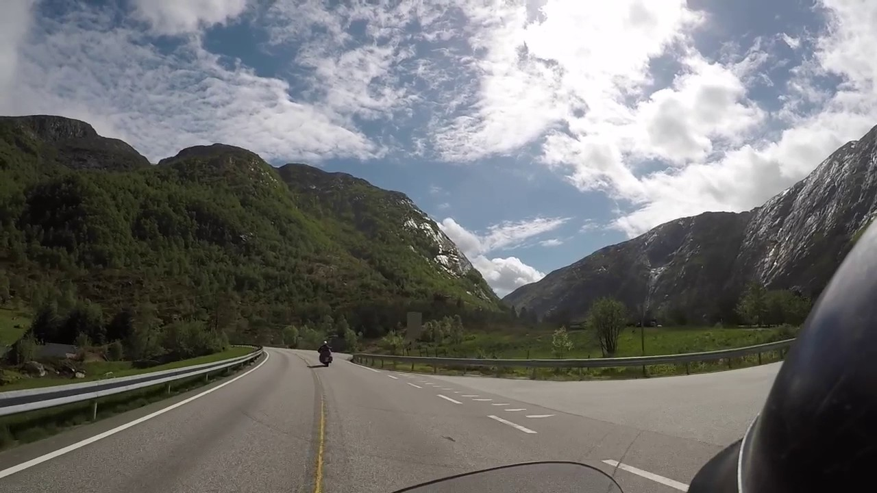 Norway - Tunnels, Fjords amazing views and more Tunnels