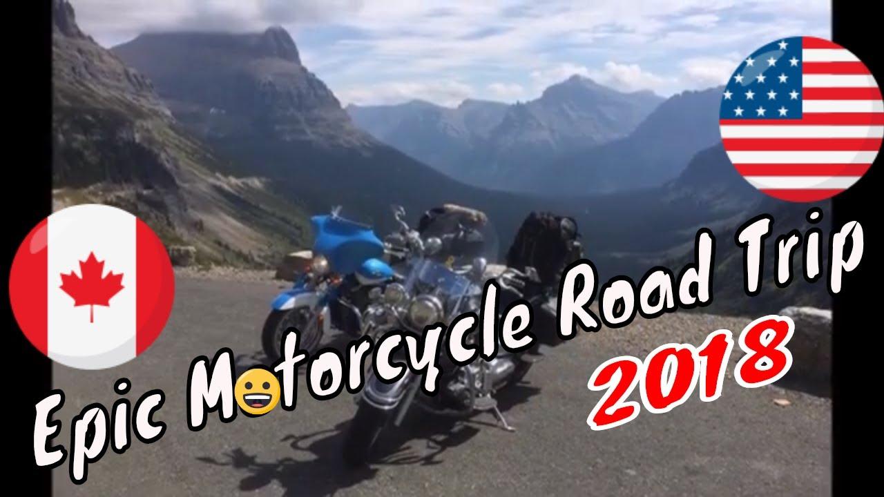 Epic Motorcycle Road Trip, Canada & U.S.A