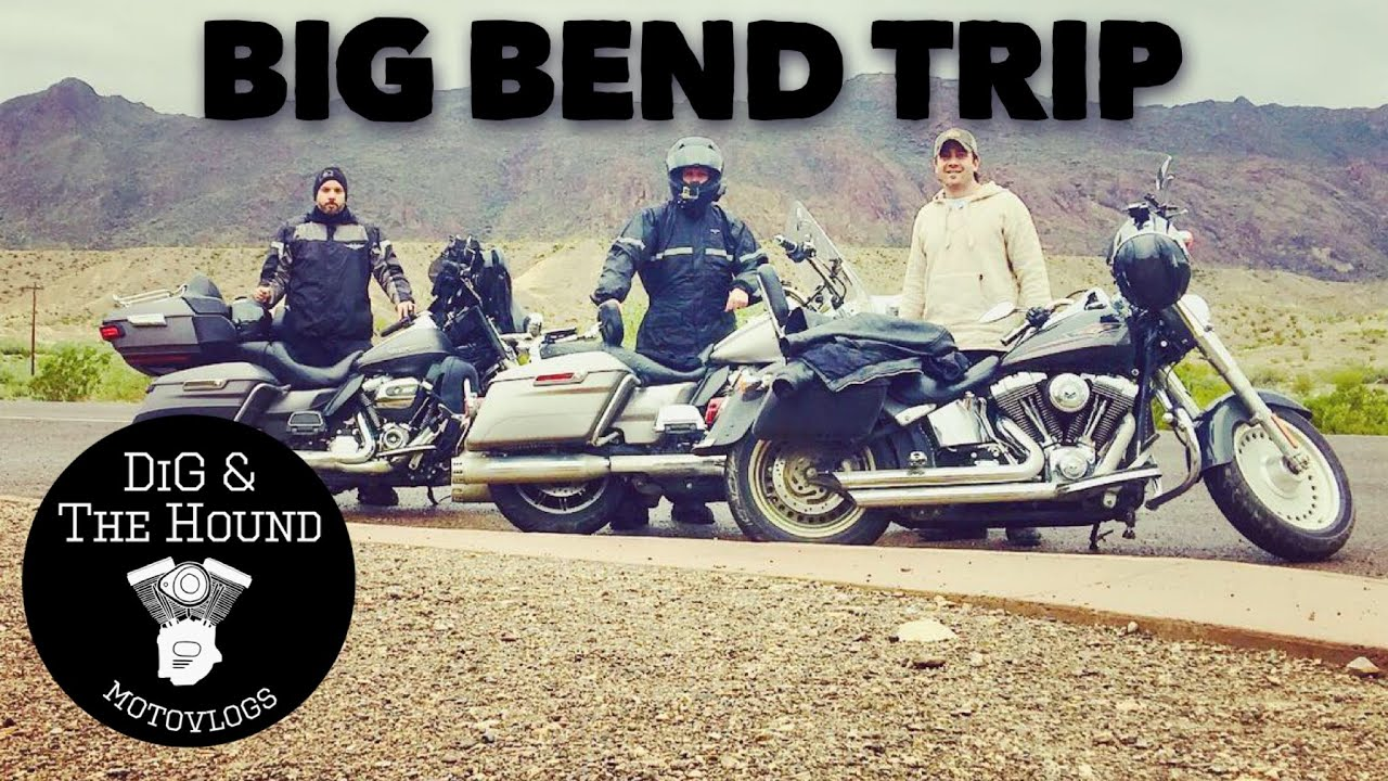 Big Bend Motorcycle Trip With HOG Chapter