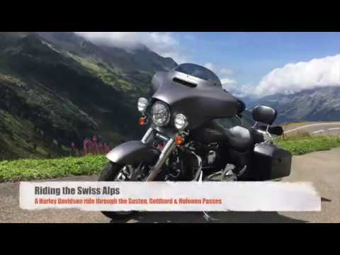 Harley Ride Through the Swiss Alps