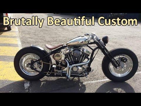 Special Harley Davidson Custom Bobbers