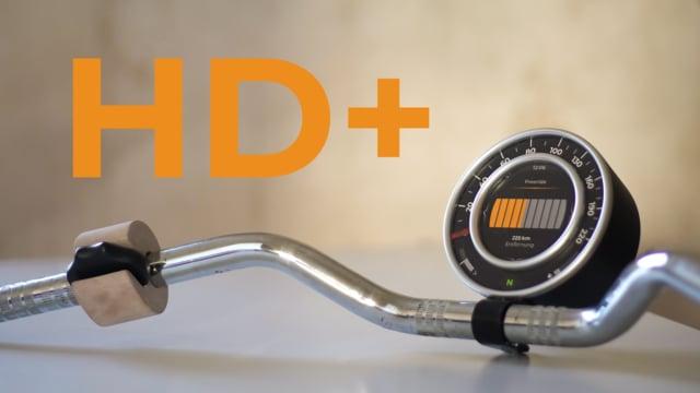 HD+ Motorcycle Cockpit