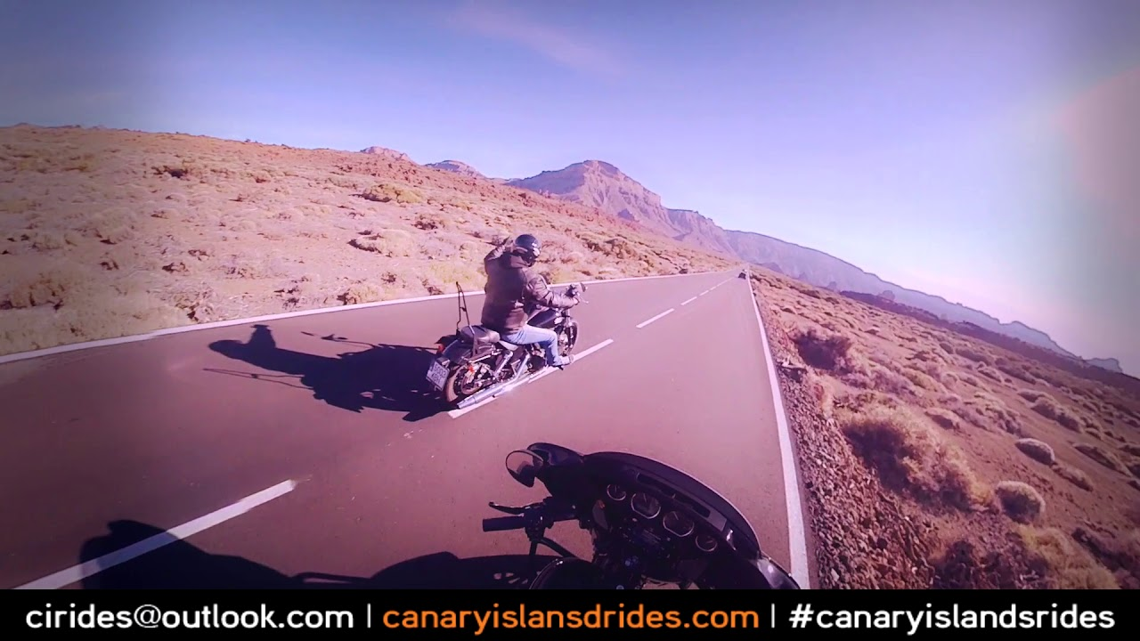 Harley Ride Tenerife Insta 360 One X