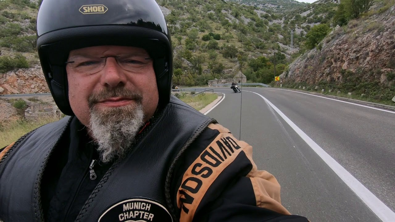 Harley Tour - Adriatic Highway Croatia 2018