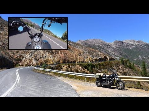'99 Bends' Queenstown, Tasmania AUSTRALIA On a HARLEY!
