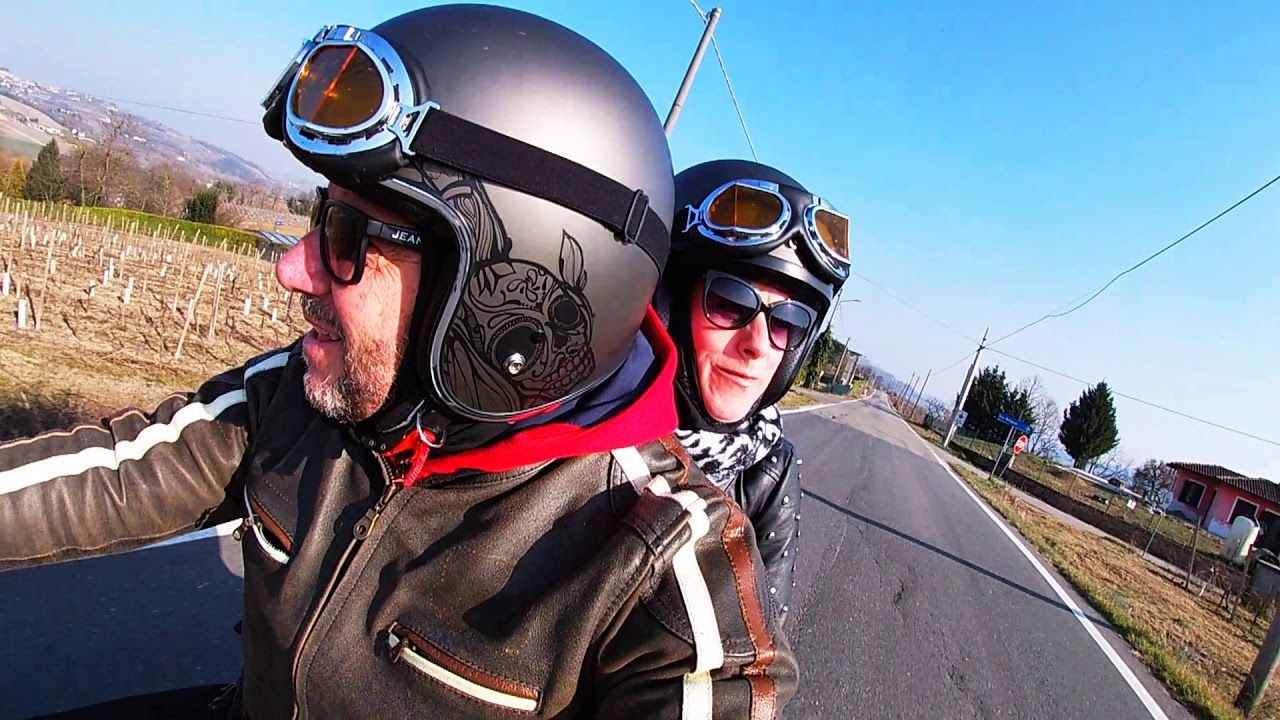 MONFERRATO ROUND TRIP  WITH HARLEY DAVIDSON 883 IRON & GOPRO HERO 7 WHITE