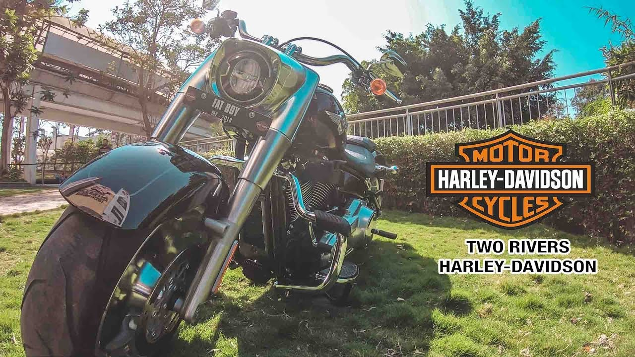 Harley Davidson Pune | Fat Boy | Two Rivers - Pune | GoPro Cinematic video | The Jugnu