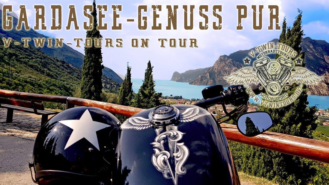Mit der Harley um den Gardasee: Motorradtour Gardasee
