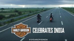 Harley Davidson #10YEARSOFHDINDIA