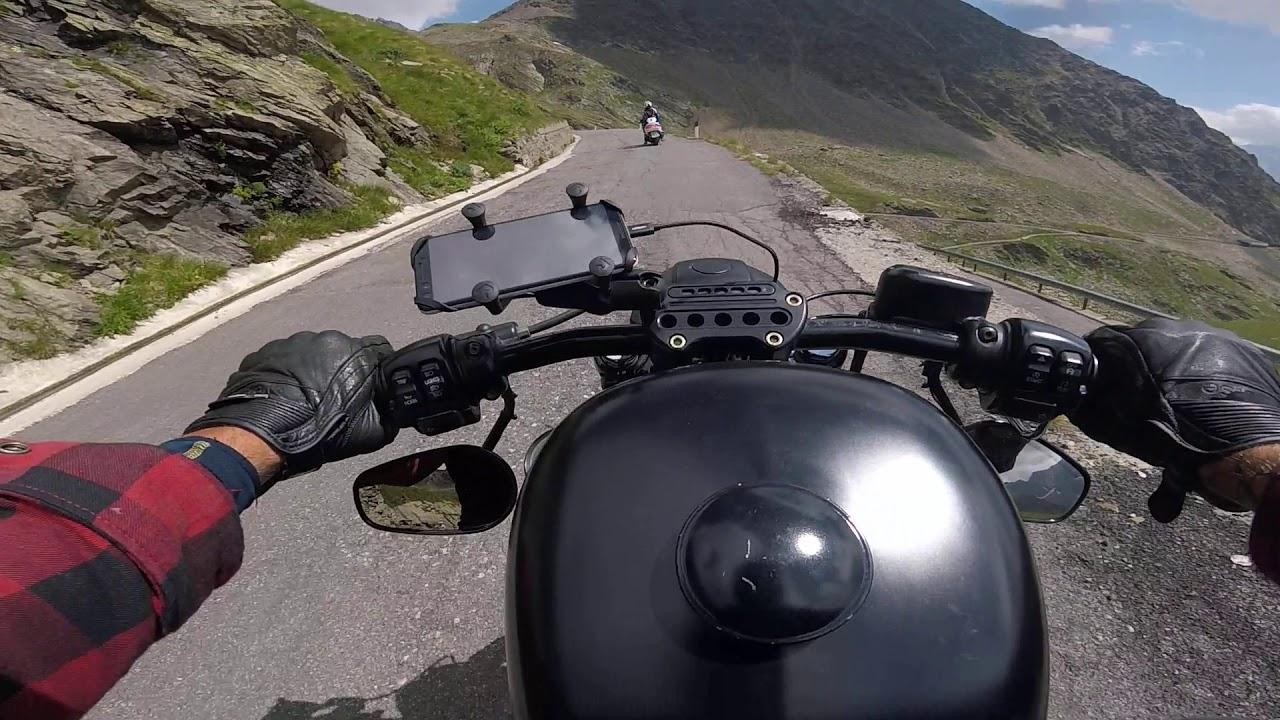 Harley Davidson Sportster Passo di Gavia Italy