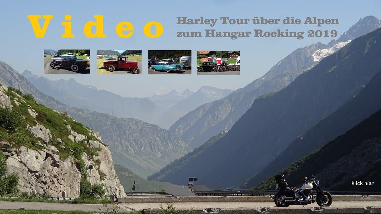 Harley Davidson -- Hangar Rocking Tour  2019