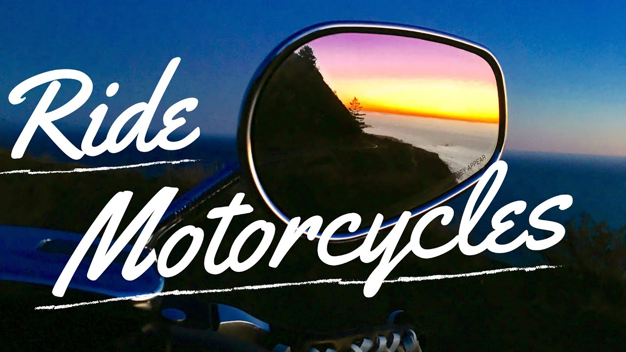A short Motorcycle ride on Northern Californias HWY 1 to grab a quick bite to eat. Join me!