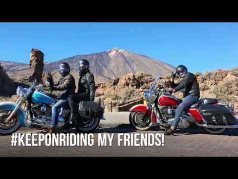 GoPro Max Harley Ride Tenerife