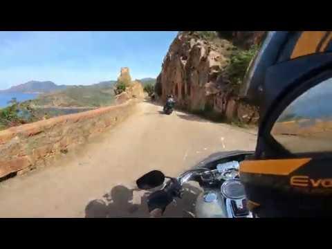 Harley Sport Glide - Porto - Calvi - NO MUSIC - No Wind - Pure Sound