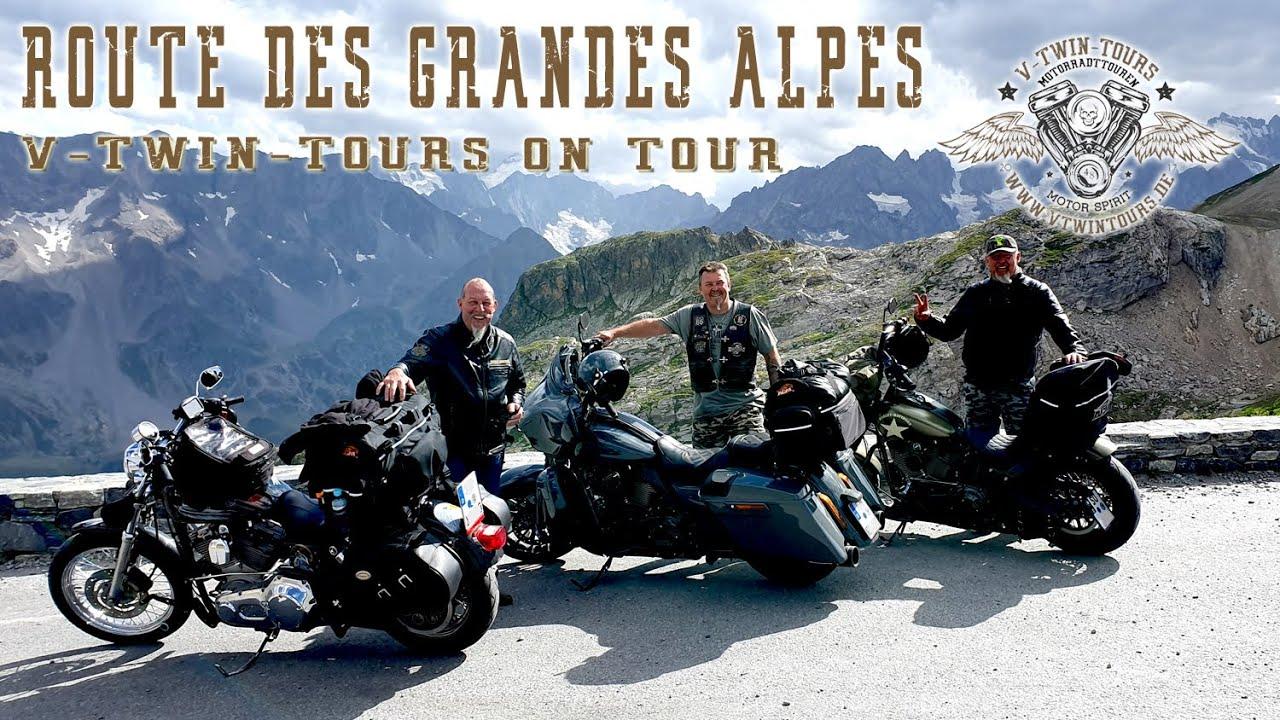 Mit der Harley über die Route des Grandes Alpes: Motorradreise französischen Alpen
