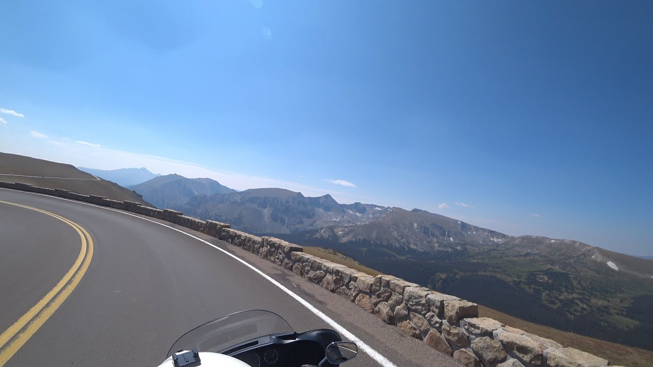Day 14:14, Canada & Yellowstone, EagleRider, Harley Davidson, Rocky Mountain National Park 4K