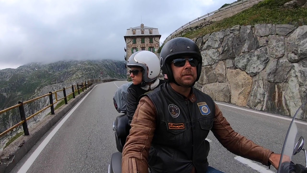 Swiss Alps Motorcycle Ride 2019