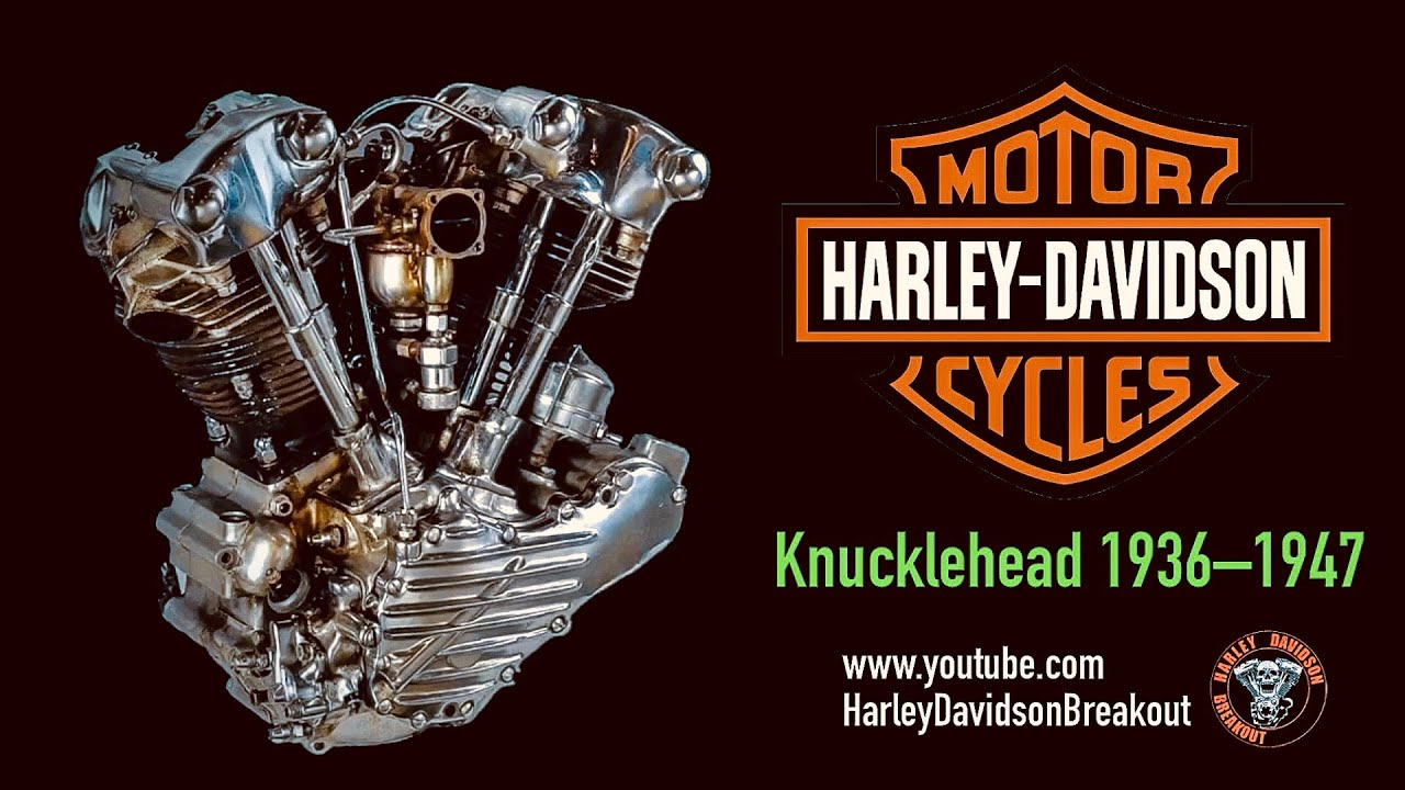 Harley Davidson Engine Sound 1903-2020
