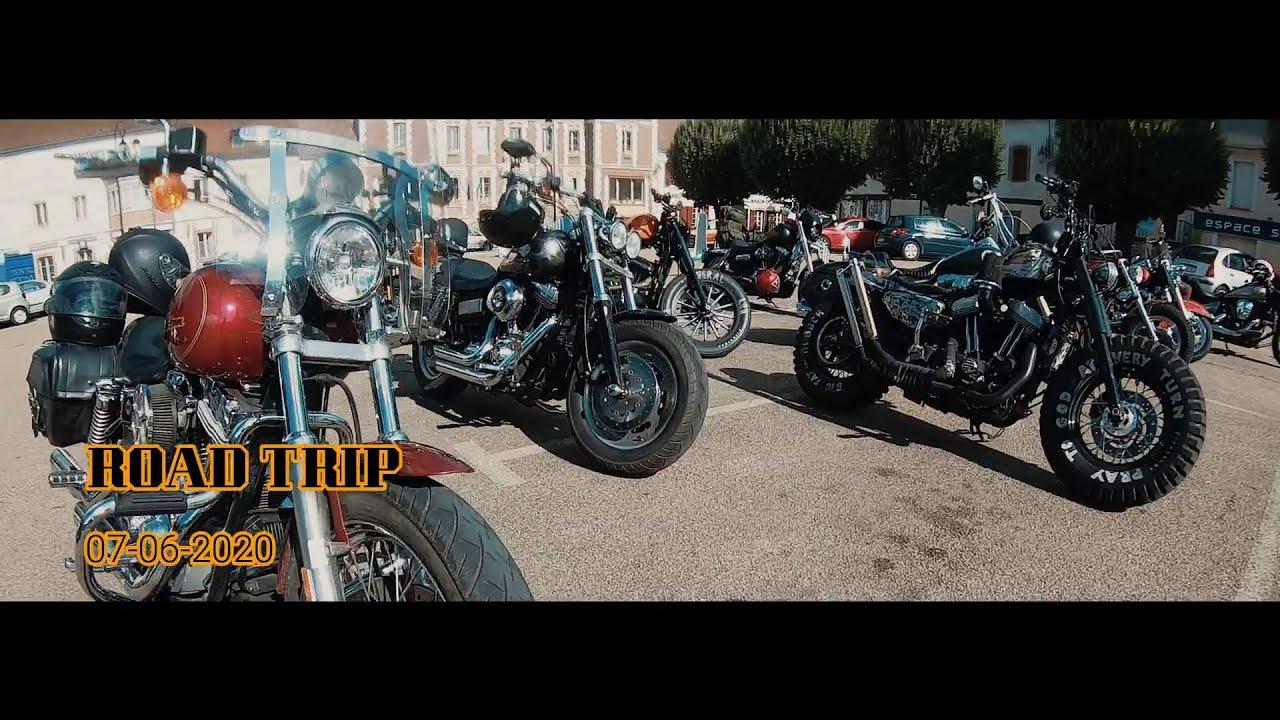 ROAD TRIP moto Harley Davidson France avec les WILD SOUL MC