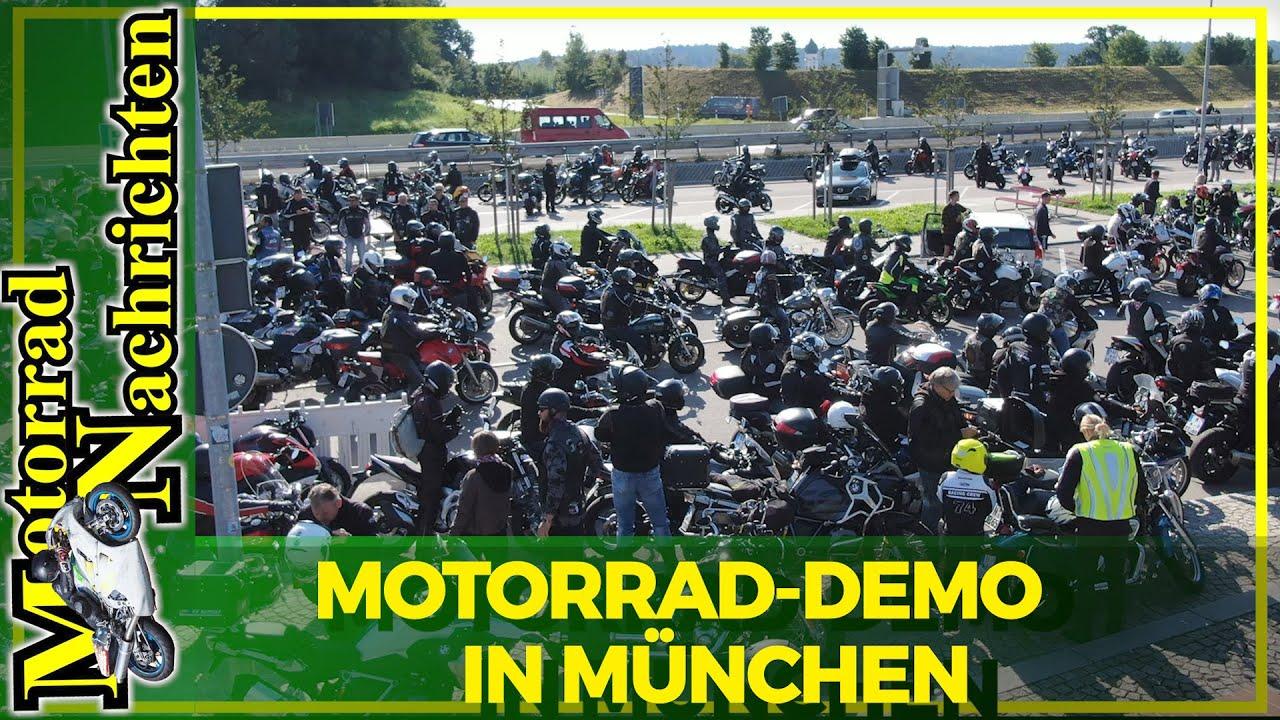 Fahrverbot für uns, aber nicht mit uns ! Motorrad Demo in München - Eventbericht - | MOTORRAD NACHRICHTEN