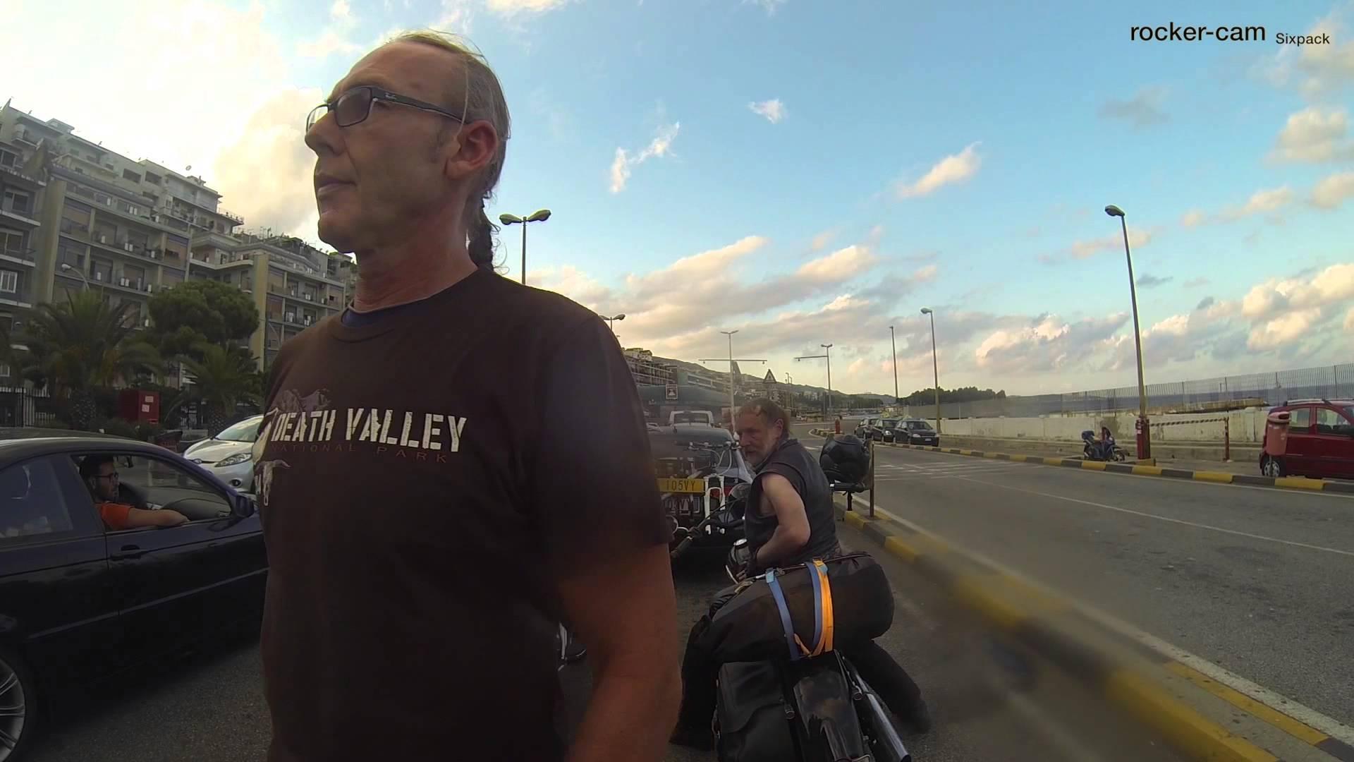 Harley Tour nach Palermo 2014