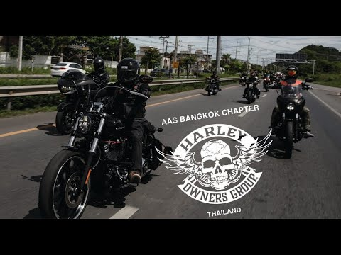 AAS BANGKOK CHAPTER HARLEY OWNERS GROUP THAILAND @ Cha-am Phetchaburi
