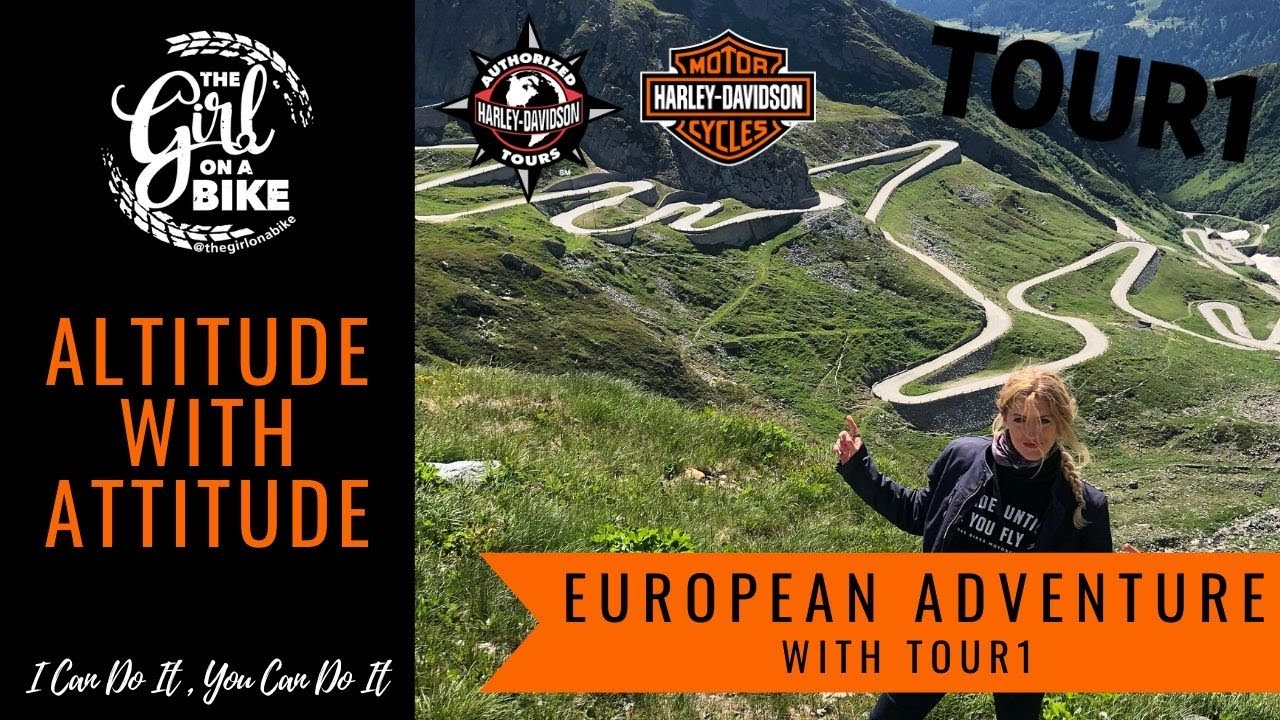 European Harley-Davidson road trip on the Sport Glide | The Girl On A Bike with Tour1