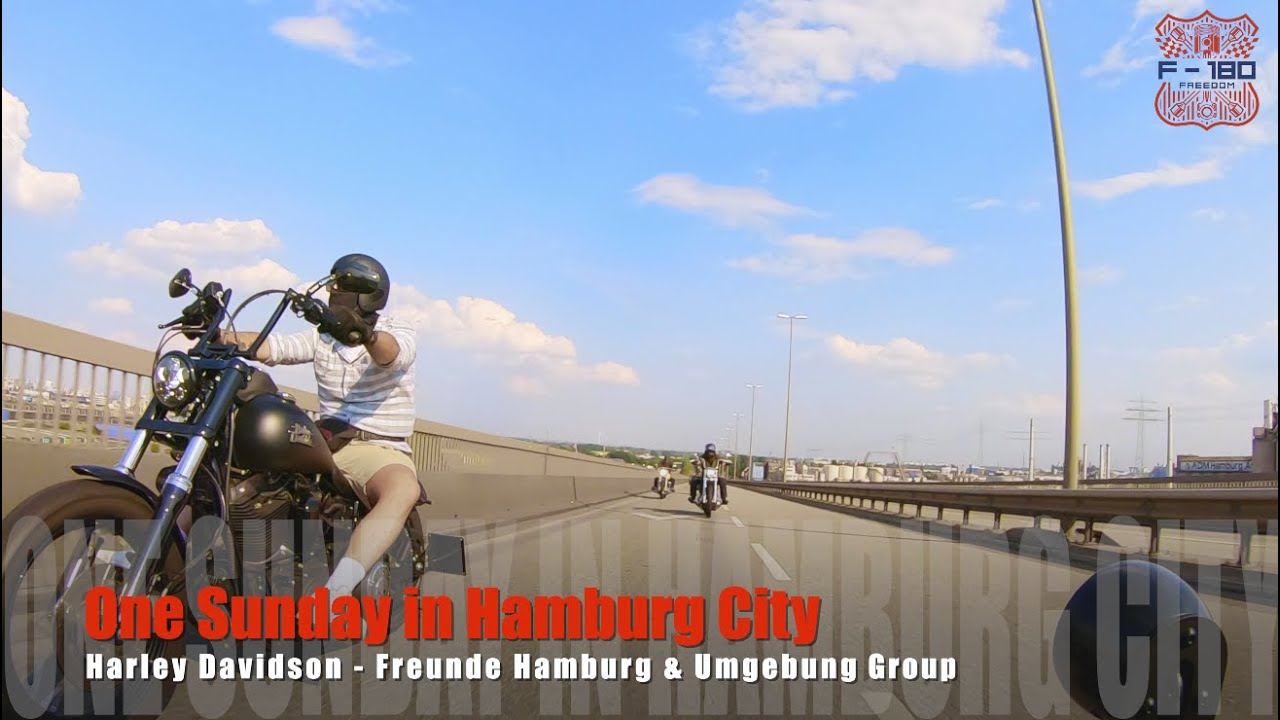 One Sunday in Hamburg City - Harley Davidson Group Ride
