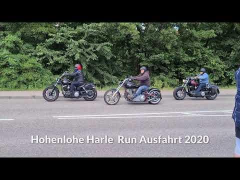 Ausfahrt Hohenlohe Harley Run 2020
