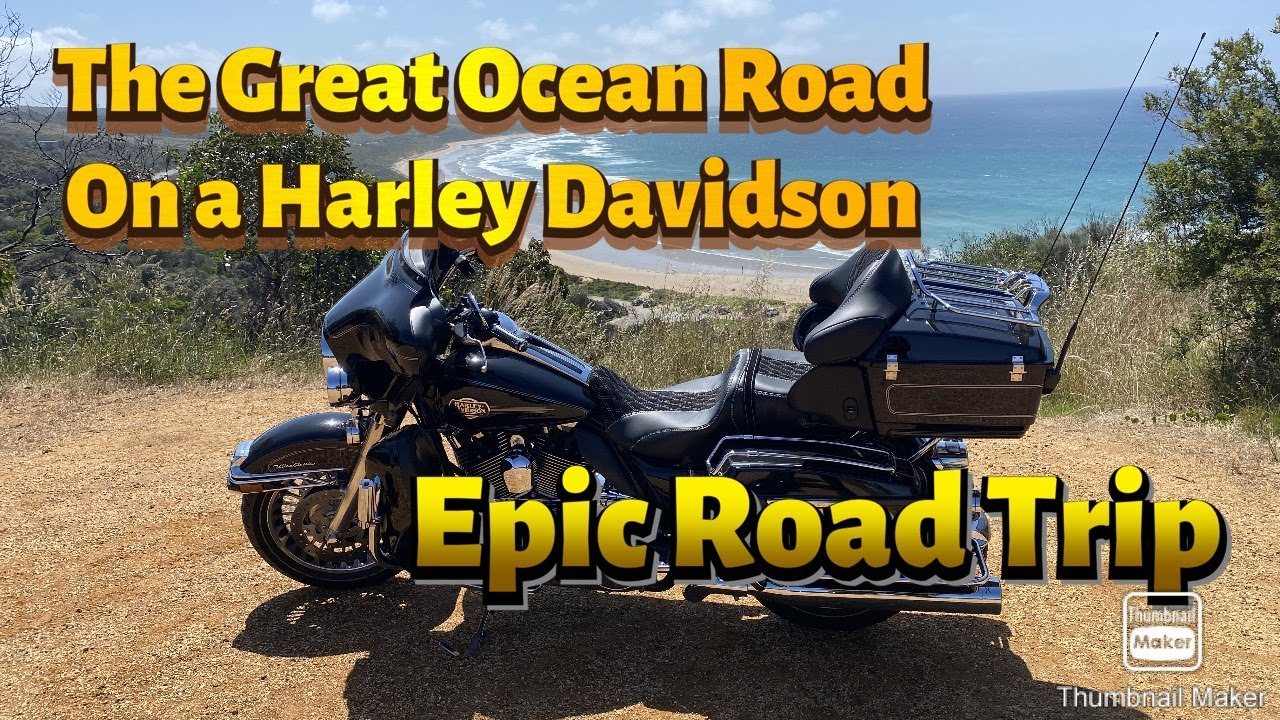Epic Harley Davidson Ride, The Great Ocean Road, Victoria, Australia