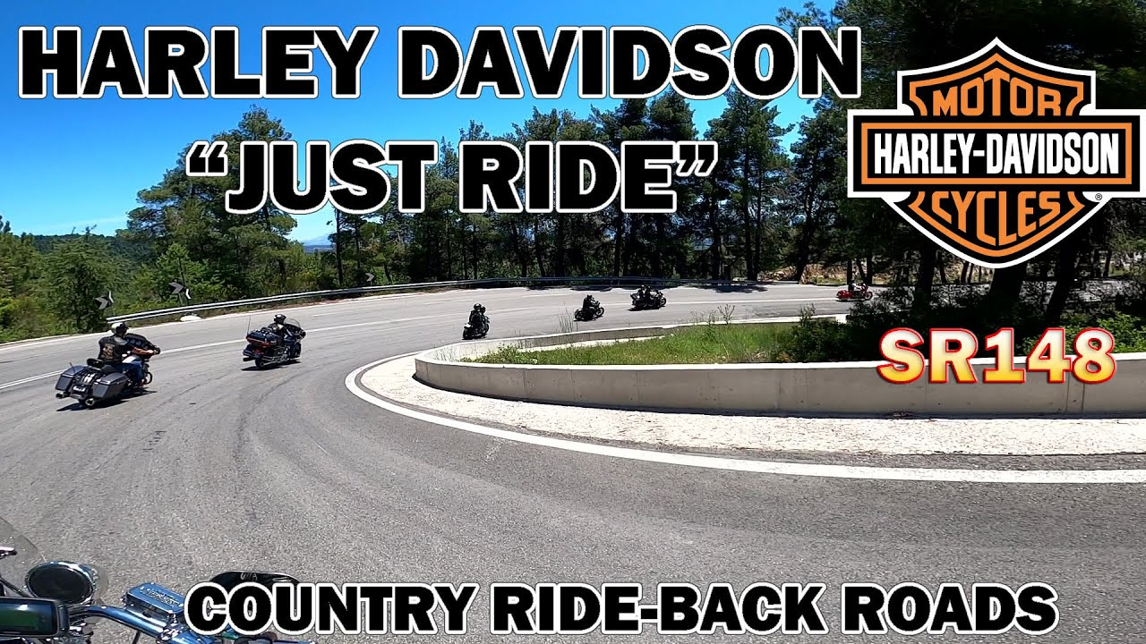 SR148- JUST RIDE - HARLEY DAVIDSON LIFESTYLE