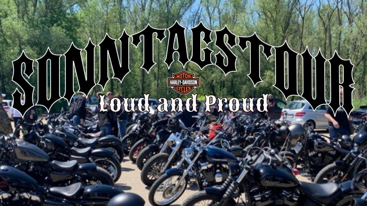 💯 Meine bislang heftigste Ausfahrt 💯| LOUD & PROUD | Harley Davidson Motovlog | Rideout