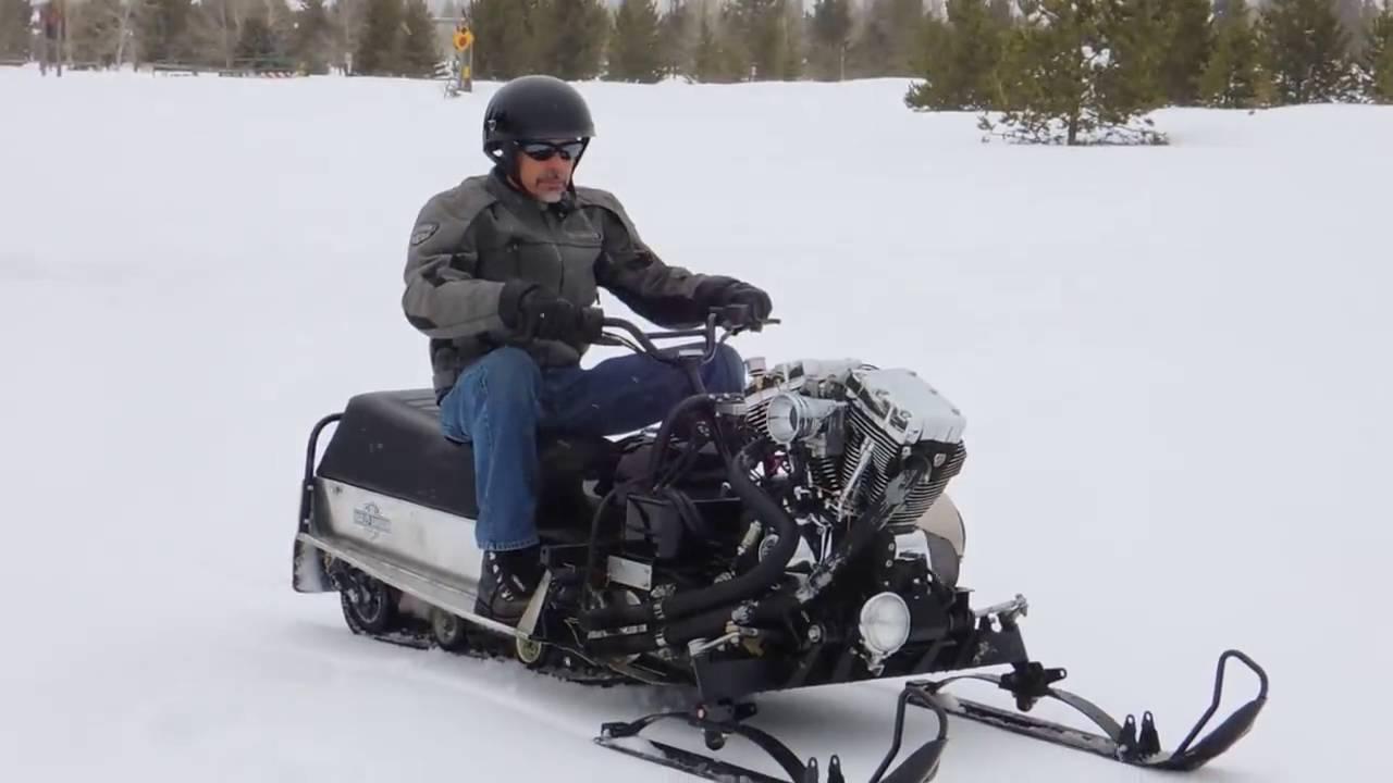 Снегоход Harley-Davidson