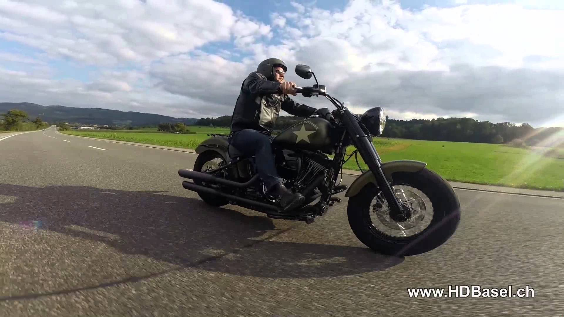"Harley-Davidson SoftailSlim S110 - 2016 ""Time to Ride"""