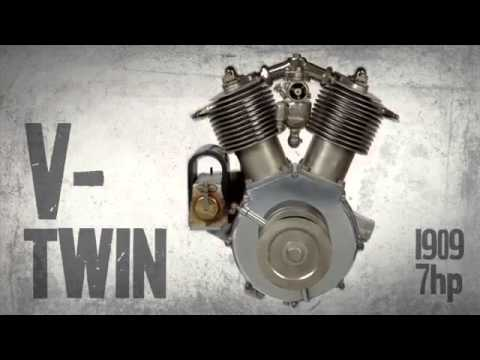 Sound Harley Davidson VTwin 1909
