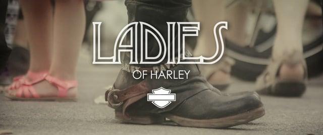 Ladies of Harley - Morzine Harley Days 2013