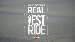 harley-davidson // real test ride