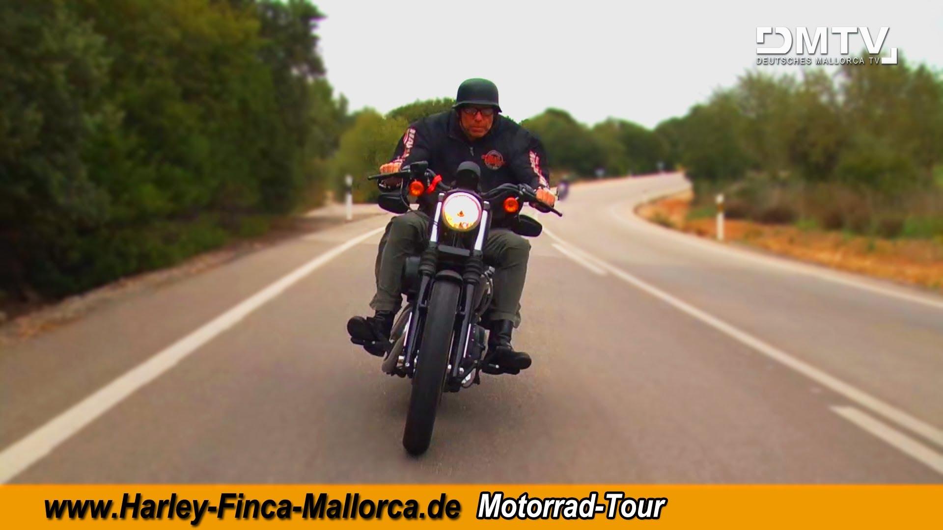 HARLEY-FINCA-MALLORCA - HARLEY TOUR AUCH IM WINTER