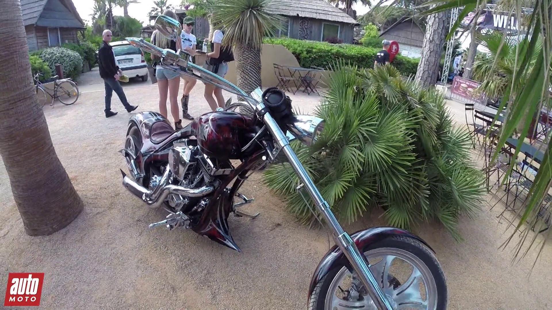Harley Davidson - Euro Festival St Tropez 2015 : Visite guidée avec AutoMoto