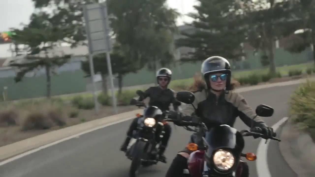 Jacinta Siracusa moto doll Harley Davidson 500 bike ride