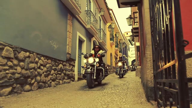 Harley Davidson La Paz Bolivia Video
