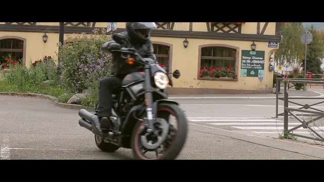 Harley Davidson Night Rod Special long spot