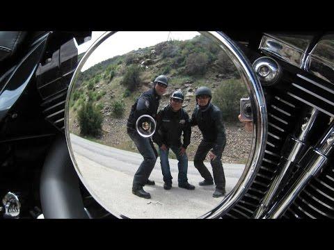 Harley Davidson Ride to Lake Isabellar & Hot Spring, 1080P-HD