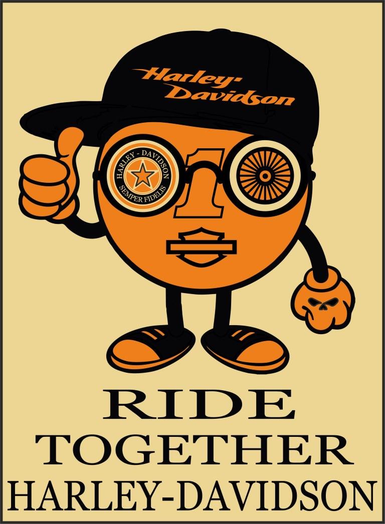 semper fidelis Harley-Davidson